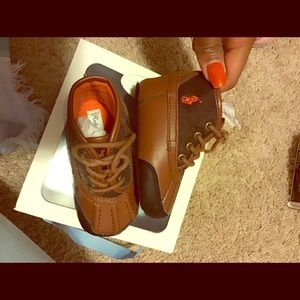 Ralph Lauren Polo soft bottom toolset booties